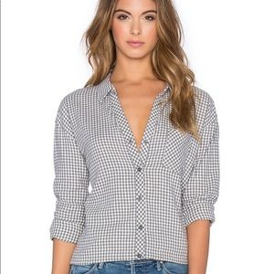 NWT $148 Soft Joie Fran Button Up Shirt
